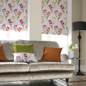 roman blinds from Rimini Blinds