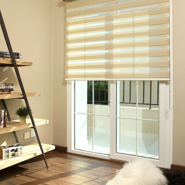 Reagan Cream Duplex Blinds