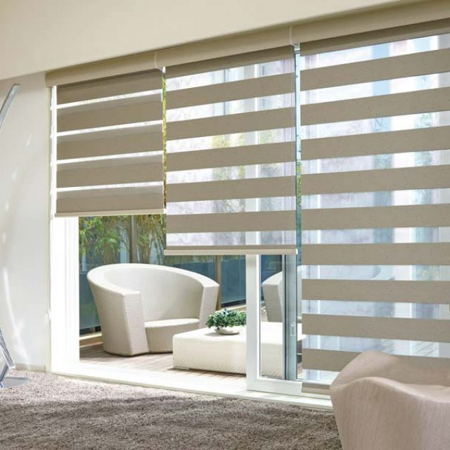 Saloni Linen Duplex Blinds