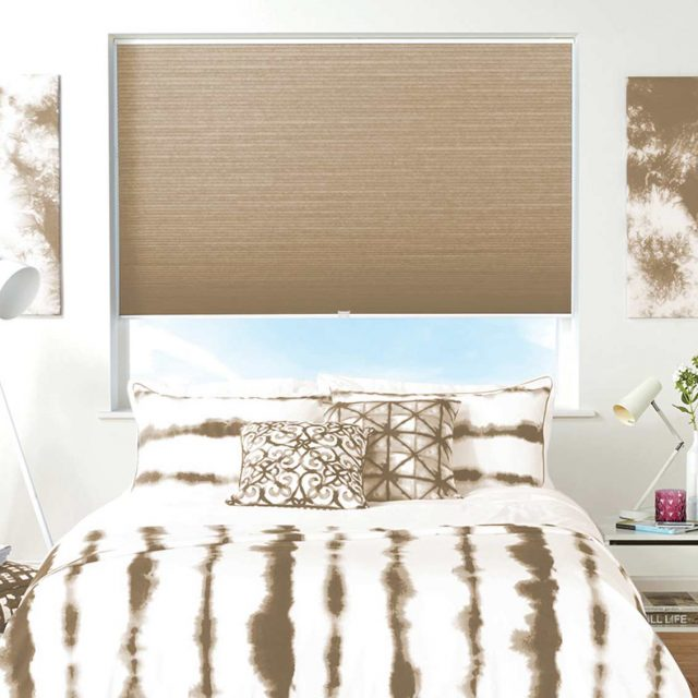 Darby Linen Honeycomb Blinds