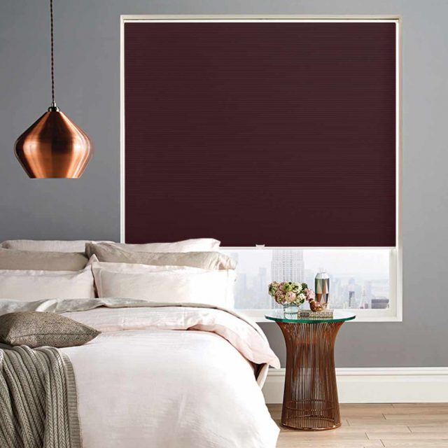 Liana Berry Honeycomb Blinds