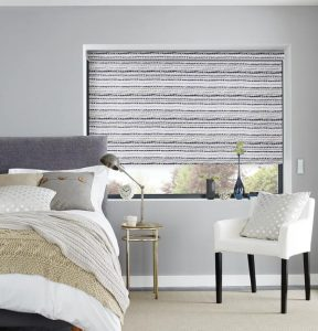 Cobbles-Midnight roller blinds