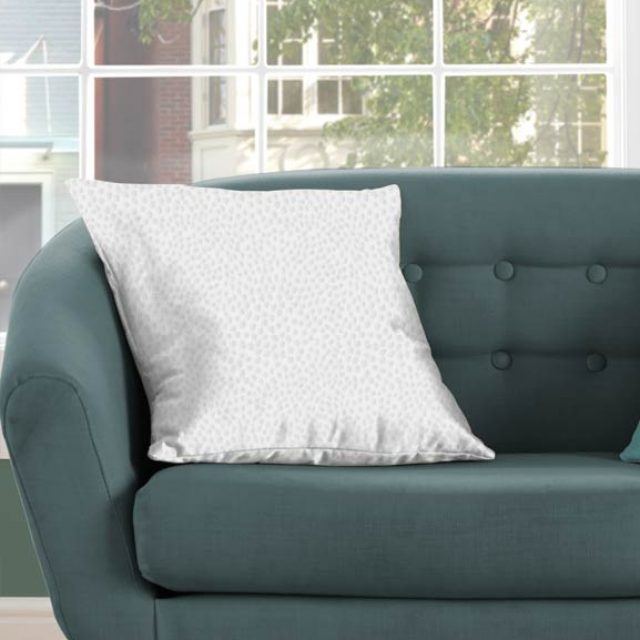 Silky Bright White Cushion