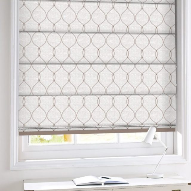 Levi Alabaster romex blinds
