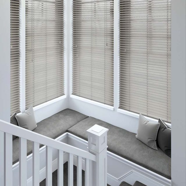 Acacia wood blinds