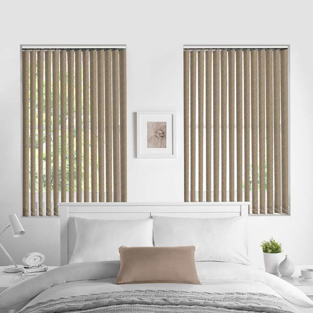 Bermuda Linen vertical blinds
