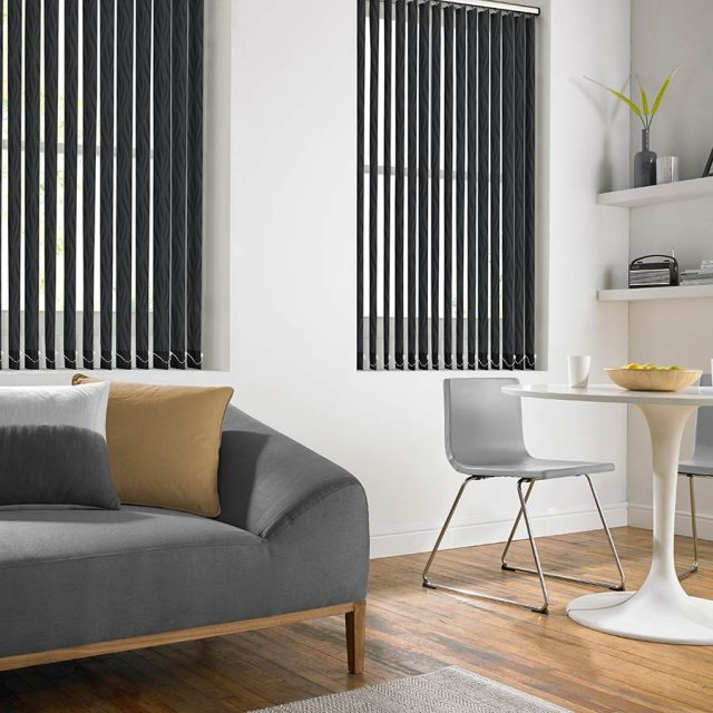 Breno Ebony vertical blinds