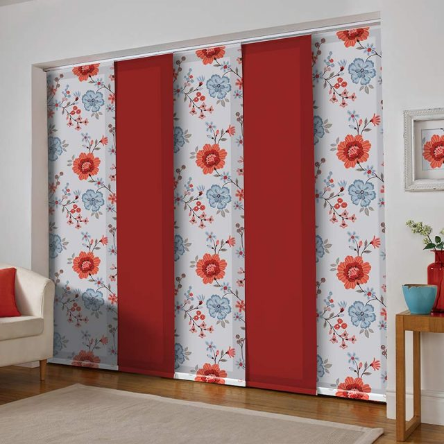 Eden Coral panel blinds
