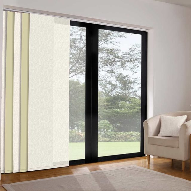 Ferrara Magnolia panel blinds
