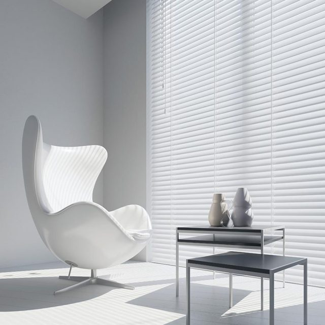 Gloss Pure wood blinds