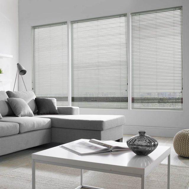 Madiba Dove aluminium venetian blinds