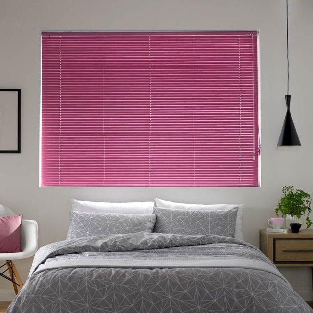 Madiba Fuschia aluminium venetian blinds