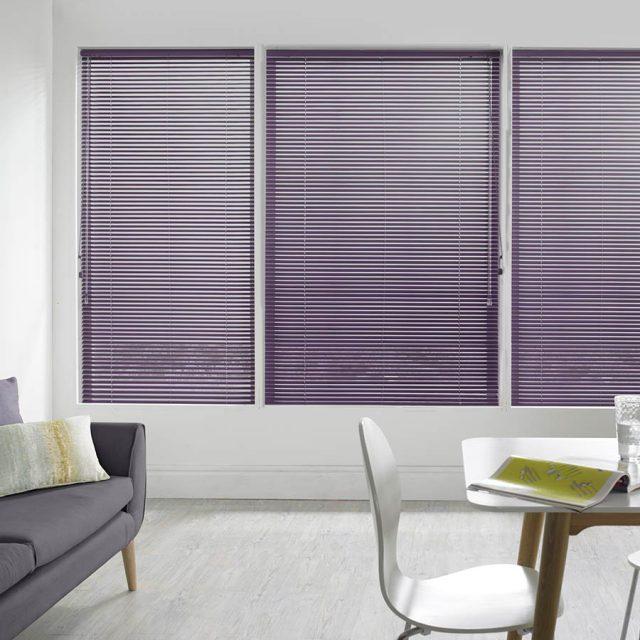 Madiba Plum aluminium venetian blinds