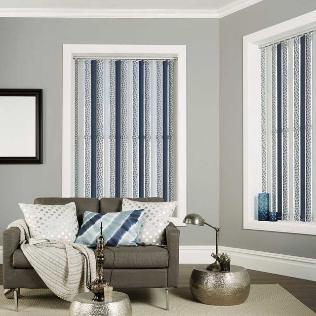 Shanghai Mist vertical blinds