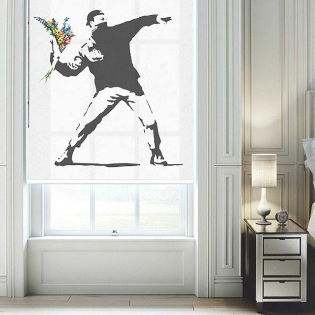 Banksy Love in the Air
