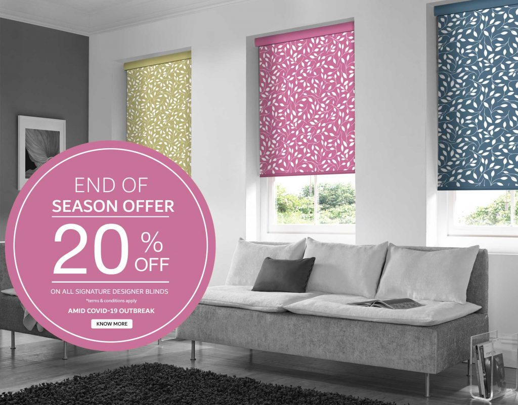 EndOf season offer Blinds